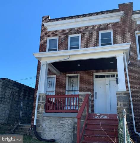 1023 N Rosedale Street, BALTIMORE, MD 21216 (#MDBA541312) :: VSells & Associates of Compass