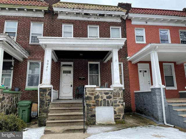 3023 W Garrison Avenue, BALTIMORE, MD 21215 (#MDBA541338) :: AJ Team Realty