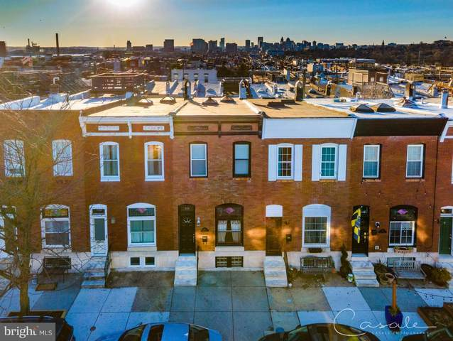 616 S East Avenue, BALTIMORE, MD 21224 (#MDBA541354) :: The Dailey Group