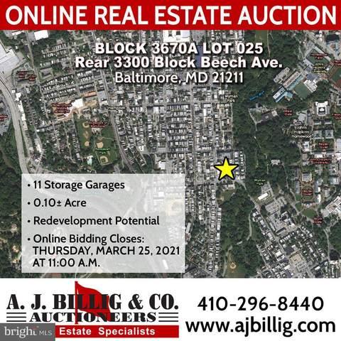 Beech Avenue 3300 Block - Rear, BALTIMORE, MD 21211 (#MDBA541374) :: The Dailey Group