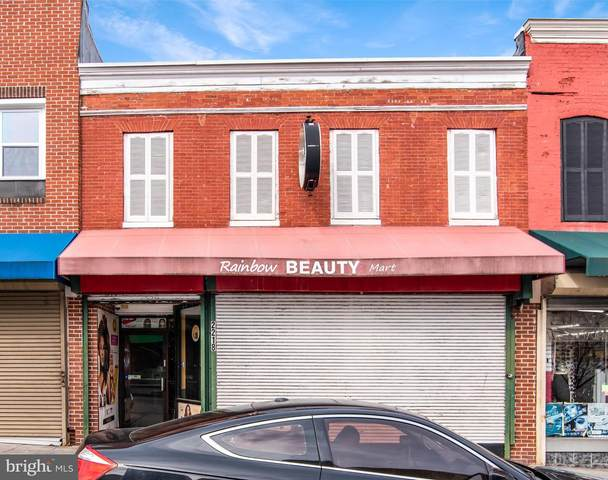 2218 E Monument Street, BALTIMORE, MD 21205 (#MDBA541588) :: VSells & Associates of Compass