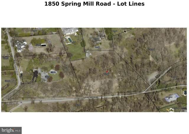 1850 Spring Mill Road, GLADWYNE, PA 19035 (#PAMC684434) :: Bob Lucido Team of Keller Williams Integrity