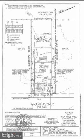 9208 Grant Avenue, LAUREL, MD 20723 (#MDHW291092) :: Bob Lucido Team of Keller Williams Integrity