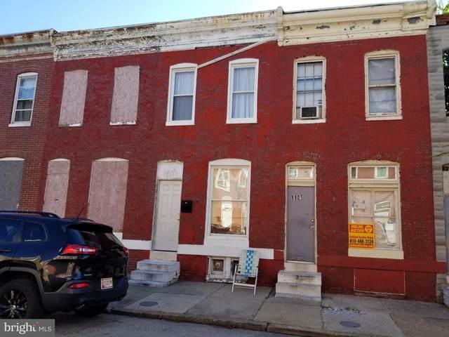 1805 Hope Street, BALTIMORE, MD 21202 (#MDBA541722) :: AJ Team Realty