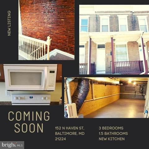 152 N Haven Street, BALTIMORE, MD 21224 (#MDBA542046) :: City Smart Living