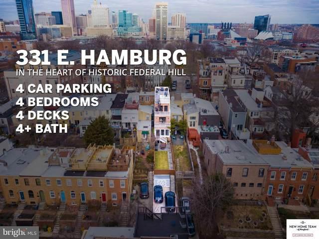 331 E Hamburg Street, BALTIMORE, MD 21230 (#MDBA542096) :: Revol Real Estate