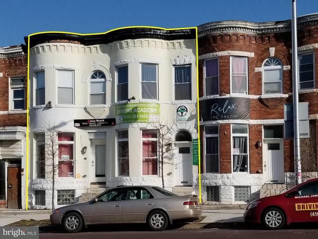 1712 W North Avenue, BALTIMORE, MD 21217 (#MDBA542314) :: Colgan Real Estate