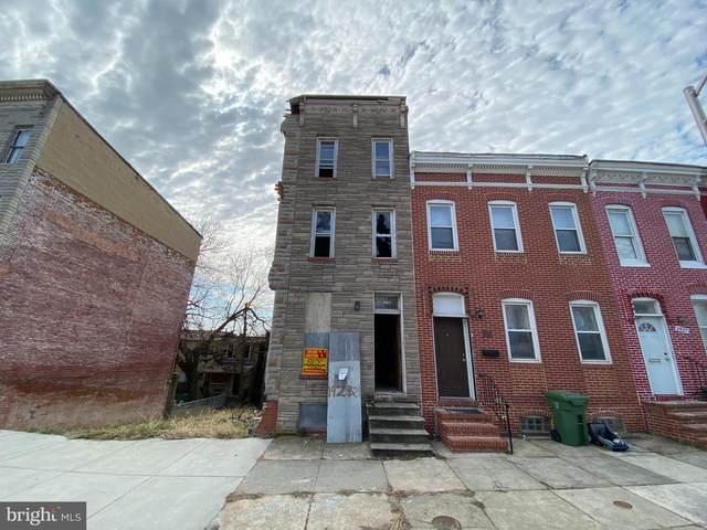 1921 Hollins Street, BALTIMORE, MD 21223 (#MDBA543020) :: Colgan Real Estate