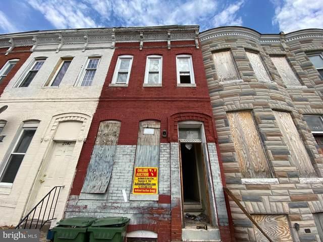 2040 Hollins Street, BALTIMORE, MD 21223 (#MDBA543032) :: Colgan Real Estate