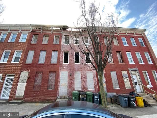 2105 Hollins Street, BALTIMORE, MD 21223 (#MDBA543036) :: Colgan Real Estate