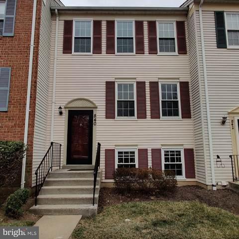840 Ivy League Lane 4-22, ROCKVILLE, MD 20850 (#MDMC748588) :: Tom & Cindy and Associates