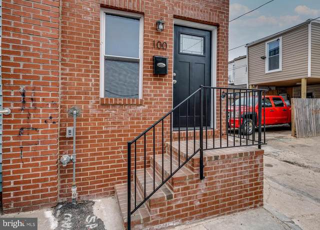100 S Dean Street, BALTIMORE, MD 21224 (#MDBA543404) :: Colgan Real Estate