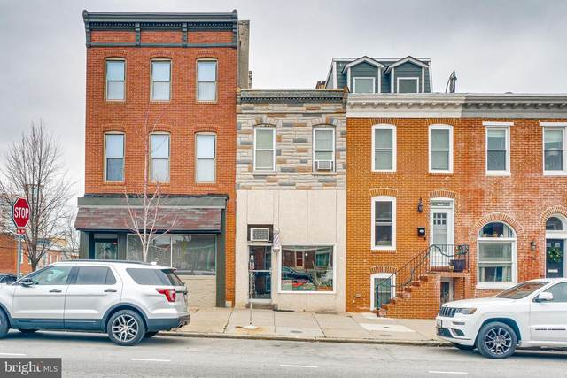 702 E Fort Avenue, BALTIMORE, MD 21230 (#MDBA543494) :: ExecuHome Realty