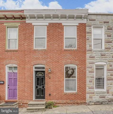 114 S Madeira Street, BALTIMORE, MD 21231 (#MDBA543646) :: Network Realty Group