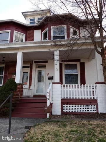 219 W Howard Street, HAGERSTOWN, MD 21740 (#MDWA178478) :: ExecuHome Realty