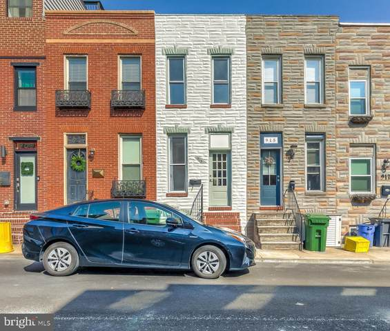 913 S Decker Avenue, BALTIMORE, MD 21224 (#MDBA543860) :: Berkshire Hathaway HomeServices McNelis Group Properties