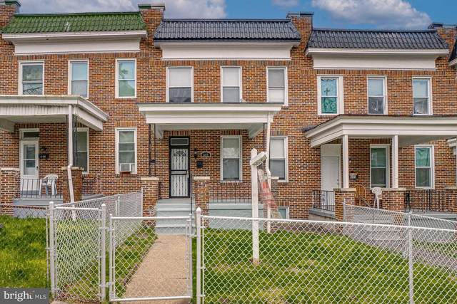 607 Mount Holly Street, BALTIMORE, MD 21229 (#MDBA543948) :: Berkshire Hathaway HomeServices McNelis Group Properties