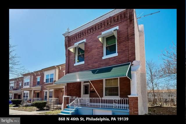 868 N 46TH Street, PHILADELPHIA, PA 19139 (#PAPH999030) :: Jason Freeby Group at Keller Williams Real Estate
