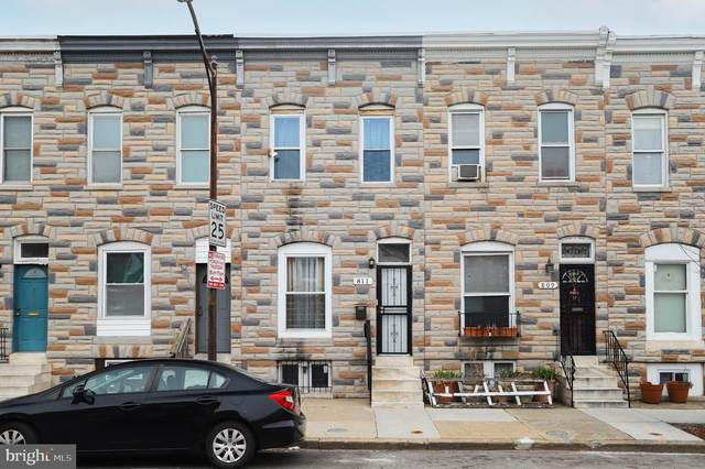 811 N Milton Avenue, BALTIMORE, MD 21205 (#MDBA544322) :: Crossman & Co. Real Estate