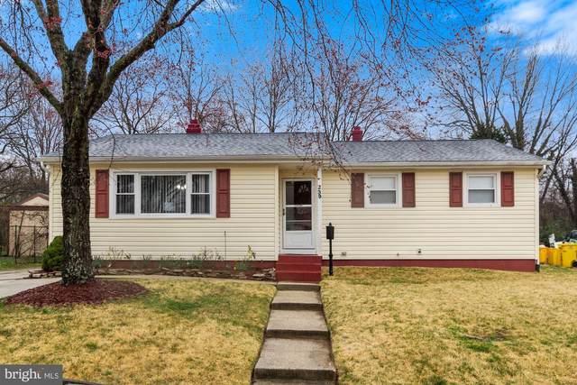 239 Spring Gap S, LAUREL, MD 20724 (#MDAA462864) :: Crossman & Co. Real Estate