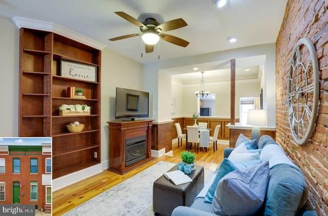 1438 Patapsco Street, BALTIMORE, MD 21230 (#MDBA544476) :: Berkshire Hathaway HomeServices McNelis Group Properties