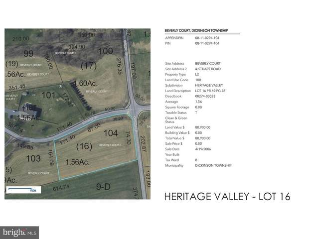 Beverly Court Lot 16, CARLISLE, PA 17015 (#PACB133242) :: ROSS | RESIDENTIAL