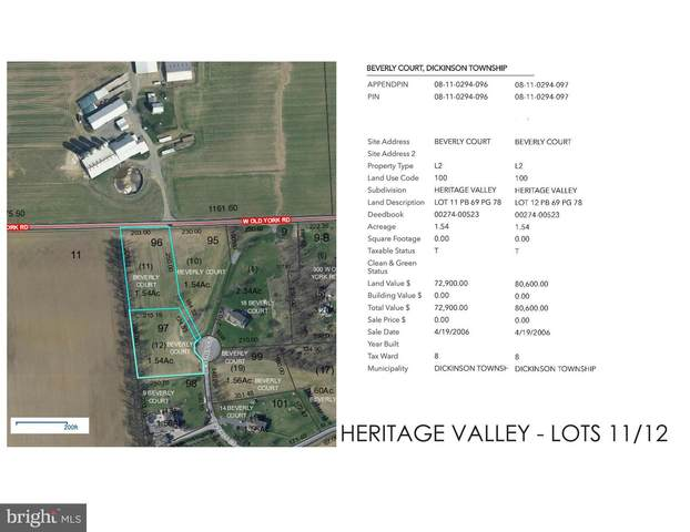 Beverly Court Lot 11/12, CARLISLE, PA 17015 (#PACB133246) :: ROSS | RESIDENTIAL