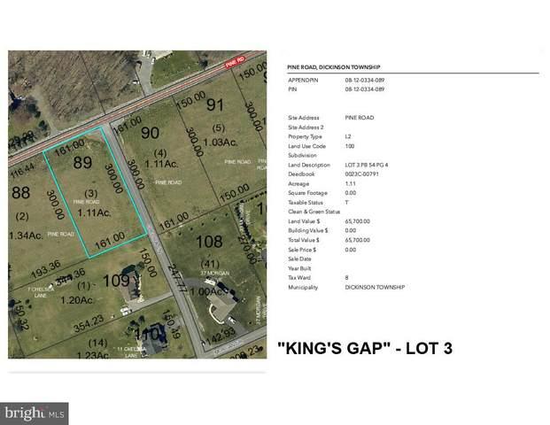 Pine Road Lot 3, CARLISLE, PA 17015 (#PACB133290) :: The Craig Hartranft Team, Berkshire Hathaway Homesale Realty