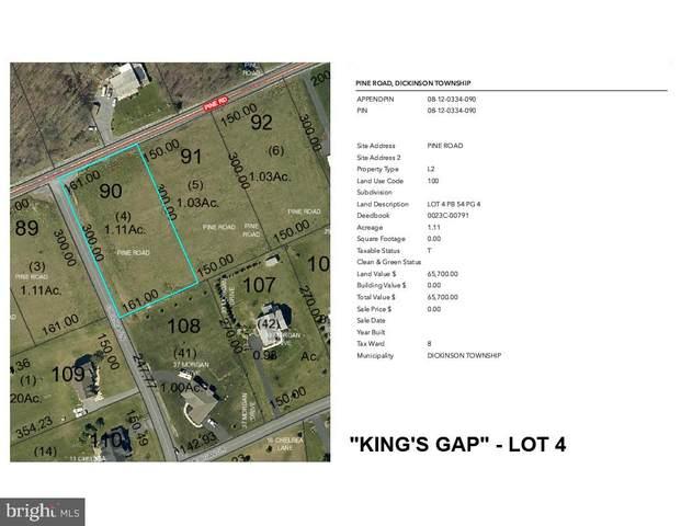 Pine Road Lot 4, CARLISLE, PA 17015 (#PACB133292) :: The Jim Powers Team