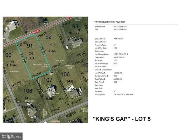 Pine Road Lot 5, CARLISLE, PA 17015 (#PACB133294) :: The Jim Powers Team