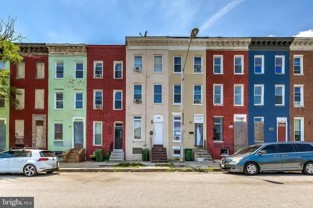 828 N Stricker Street, BALTIMORE, MD 21217 (#MDBA545038) :: ExecuHome Realty