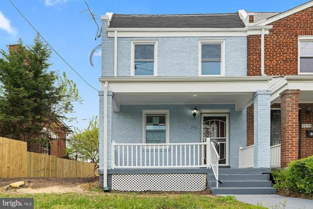 2481 Alabama Avenue SE, WASHINGTON, DC 20020 (#DCDC514530) :: The Miller Team