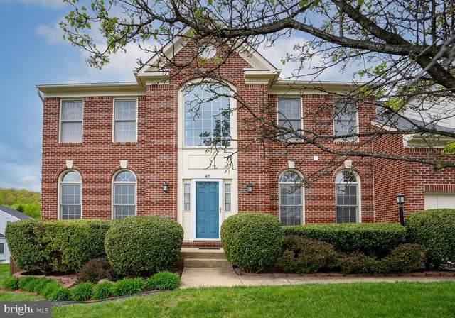 47 Brittany Lane, STAFFORD, VA 22554 (#VAST230640) :: Berkshire Hathaway HomeServices McNelis Group Properties