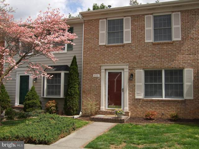 405 Tudor Drive, WINCHESTER, VA 22603 (#VAFV163126) :: Keller Williams Realty Centre