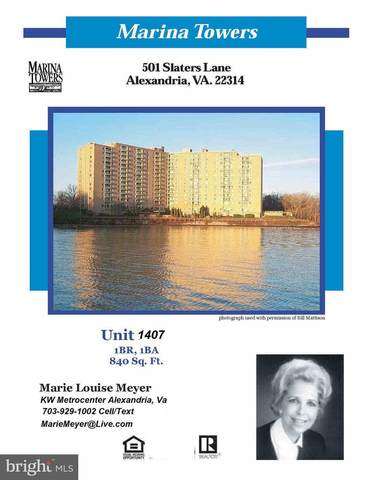 501 Slaters Lane #1407, ALEXANDRIA, VA 22314 (#VAAX258004) :: City Smart Living