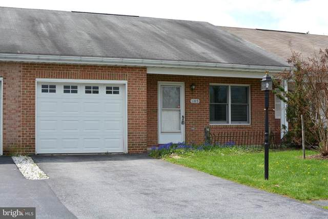 105 Sunflower Drive, HAGERSTOWN, MD 21740 (#MDWA178800) :: ExecuHome Realty
