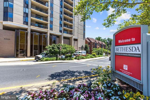 4242 East West Highway #903, CHEVY CHASE, MD 20815 (#MDMC751858) :: AJ Team Realty