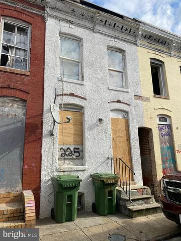 225 S Vincent Street, BALTIMORE, MD 21223 (#MDBA546044) :: SURE Sales Group