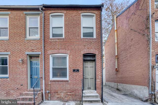 419 S Duncan Street, BALTIMORE, MD 21231 (#MDBA546078) :: Network Realty Group