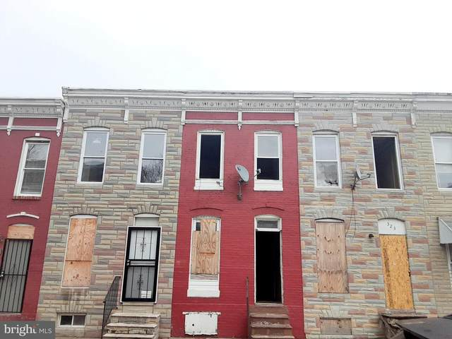 321 Furrow Street, BALTIMORE, MD 21223 (#MDBA546094) :: Bruce & Tanya and Associates