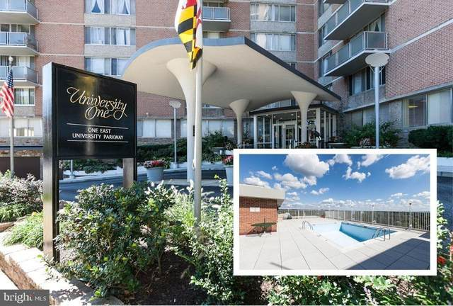 1 E University Parkway #1207, BALTIMORE, MD 21218 (#MDBA546108) :: Realty One Group Performance
