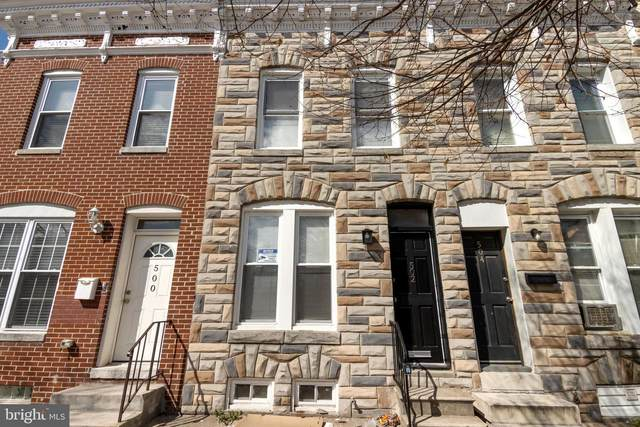 502 N Collington Avenue, BALTIMORE, MD 21205 (#MDBA546116) :: Crossman & Co. Real Estate