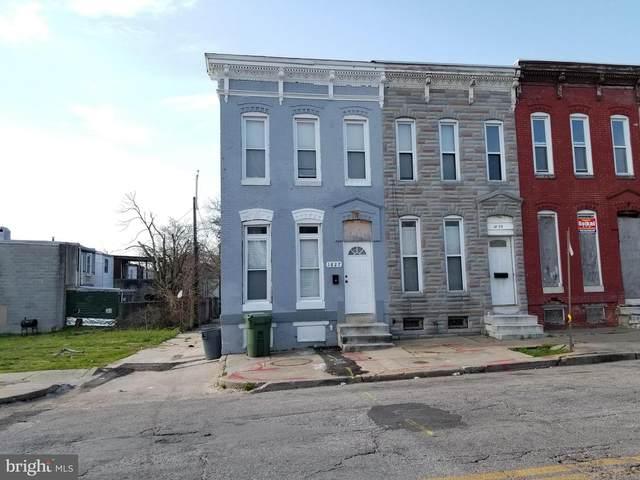 1827 E Federal Street, BALTIMORE, MD 21213 (#MDBA546130) :: Colgan Real Estate