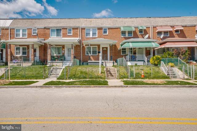 3816 Hayward Avenue, BALTIMORE, MD 21215 (#MDBA546170) :: Advance Realty Bel Air, Inc