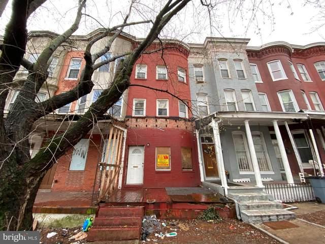 2843 W North Avenue, BALTIMORE, MD 21216 (#MDBA546298) :: Colgan Real Estate