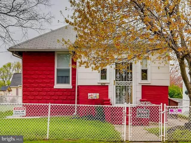 420 Arsan Avenue, BALTIMORE, MD 21225 (#MDBA546316) :: Berkshire Hathaway HomeServices McNelis Group Properties