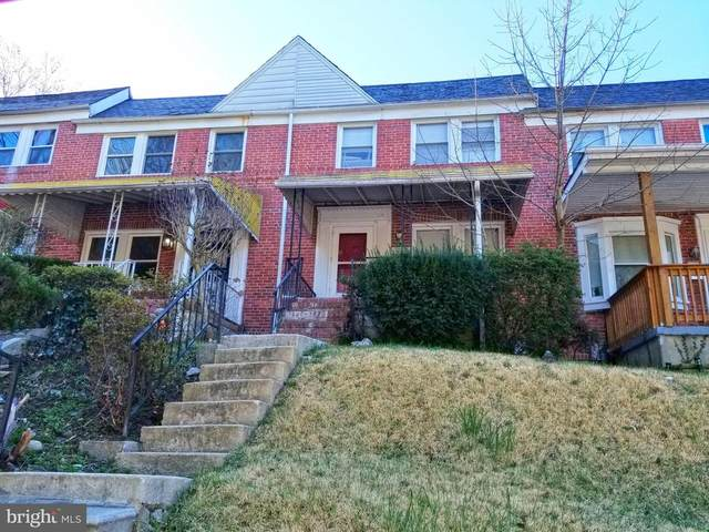 2217 Monticello Road, BALTIMORE, MD 21216 (#MDBA546354) :: AJ Team Realty