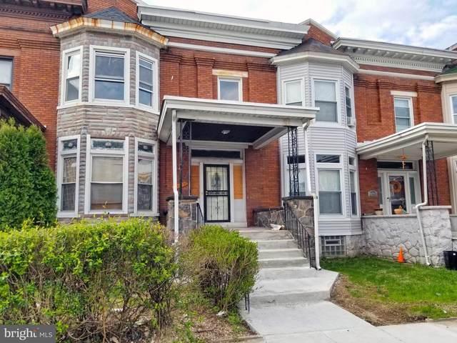 2305 Harlem Avenue, BALTIMORE, MD 21216 (#MDBA546358) :: Colgan Real Estate