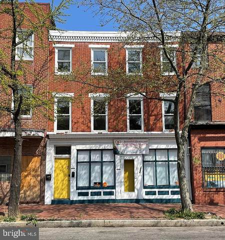 1402 W Baltimore Street, BALTIMORE, MD 21223 (#MDBA546468) :: Colgan Real Estate