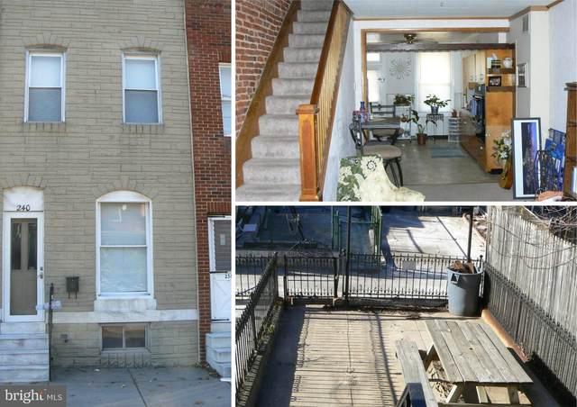 240 S Clinton Street, BALTIMORE, MD 21224 (#MDBA546476) :: Berkshire Hathaway HomeServices McNelis Group Properties